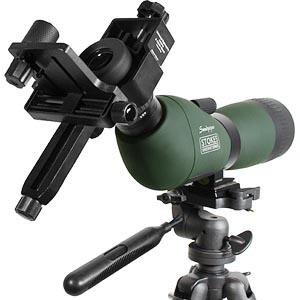 Utstyr for fotografering gjennom teleskop (digiskoping)