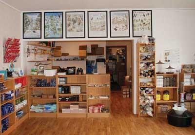 Butikkinteriør fra vårt lagersalg på Borhaug.